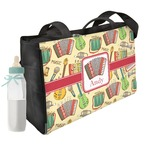 Vintage Musical Instruments Diaper Bag (Personalized)