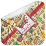 Vintage Musical Instruments Baby Hooded Towel (Personalized)