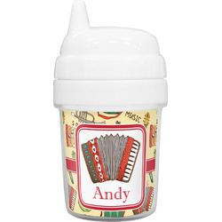 Vintage Musical Instruments Baby Sippy Cup (Personalized)