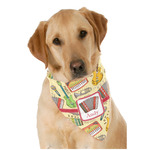 Vintage Musical Instruments Dog Bandana Scarf w/ Name or Text