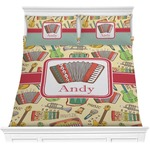 Vintage Musical Instruments Comforters (Personalized)