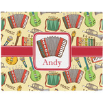 Vintage Musical Instruments Placemat (Fabric) (Personalized)