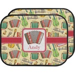 Vintage Musical Instruments Car Floor Mats (Back Seat) (Personalized)