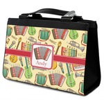 Vintage Musical Instruments Classic Tote Purse w/ Leather Trim (Personalized)