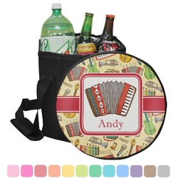 Vintage Musical Instruments Collapsible Cooler & Seat (Personalized)