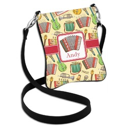 Vintage Musical Instruments Cross Body Bag - 2 Sizes (Personalized)