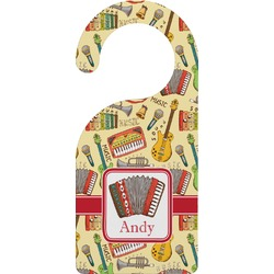 Vintage Musical Instruments Door Hanger (Personalized)