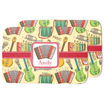 Vintage Musical Instruments Dish Drying Mat w/ Name or Text