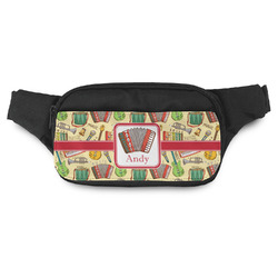 Vintage Musical Instruments Fanny Pack (Personalized)