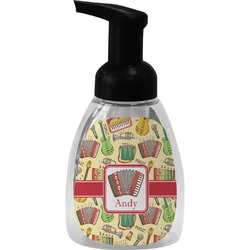 Vintage Musical Instruments Foam Soap Dispenser (Personalized)