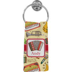 Vintage Musical Instruments Hand Towel - Full Print (Personalized)