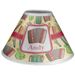 Vintage Musical Instruments Coolie Lamp Shade (Personalized)