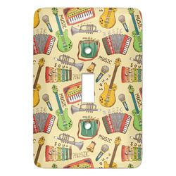 Vintage Musical Instruments Light Switch Covers (Personalized)