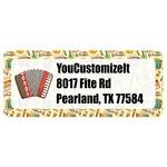 Vintage Musical Instruments Return Address Labels (Personalized)