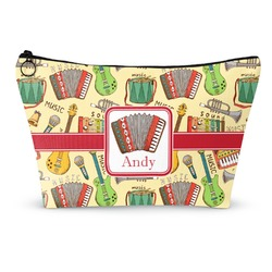 Vintage Musical Instruments Makeup Bags (Personalized)