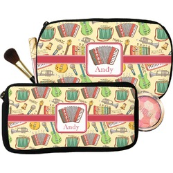 Vintage Musical Instruments Makeup / Cosmetic Bag (Personalized)