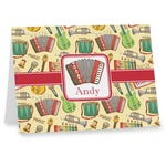 Vintage Musical Instruments Note cards (Personalized)