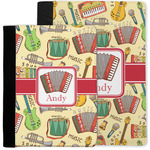 Vintage Musical Instruments Notebook Padfolio w/ Name or Text