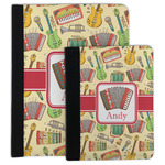 Vintage Musical Instruments Padfolio Clipboard (Personalized)
