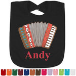 Vintage Musical Instruments Bib - Select Color (Personalized)