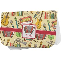 Vintage Musical Instruments Burp Cloth (Personalized)