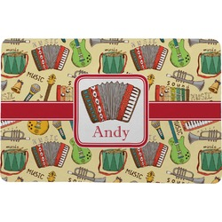 "Vintage Musical Instruments Comfort Mat - 18""x27"" (Personalized)"