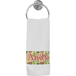 Vintage Musical Instruments Hand Towel (Personalized)