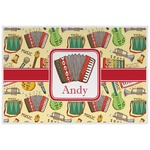 Vintage Musical Instruments Placemat (Laminated) (Personalized)