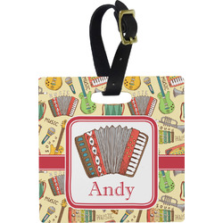 Vintage Musical Instruments Luggage Tags (Personalized)