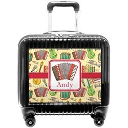 Vintage Musical Instruments Pilot / Flight Suitcase (Personalized)