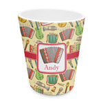 Vintage Musical Instruments Plastic Tumbler 6oz (Personalized)