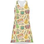 Vintage Musical Instruments Racerback Dress (Personalized)