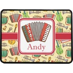 Vintage Musical Instruments Rectangular Trailer Hitch Cover (Personalized)