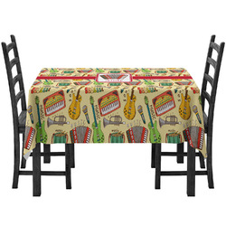 Vintage Musical Instruments Tablecloth (Personalized)