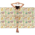 Vintage Musical Instruments Sheer Sarong (Personalized)