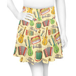 Vintage Musical Instruments Skater Skirt (Personalized)