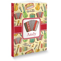 Vintage Musical Instruments Softbound Notebook (Personalized)
