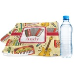 Vintage Musical Instruments Sports & Fitness Towel (Personalized)