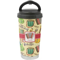 Vintage Musical Instruments Stainless Steel Coffee Tumbler (Personalized)