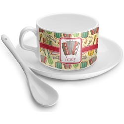 Vintage Musical Instruments Tea Cup (Personalized)