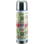 Vintage Musical Instruments Stainless Steel Thermos (Personalized)