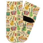 Vintage Musical Instruments Toddler Ankle Socks (Personalized)