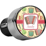 Vintage Musical Instruments USB Car Charger (Personalized)
