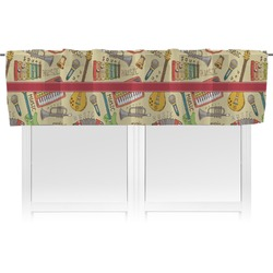 Vintage Musical Instruments Valance (Personalized)