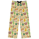 Vintage Musical Instruments Womens Pajama Pants (Personalized)