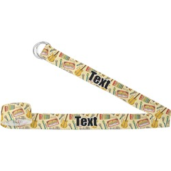 Vintage Musical Instruments Yoga Strap (Personalized)