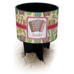 Vintage Musical Instruments Black Beach Spiker Drink Holder (Personalized)