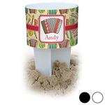 Vintage Musical Instruments Beach Spiker Drink Holder (Personalized)