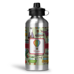 Vintage Transportation Water Bottle - Aluminum - 20 oz (Personalized)