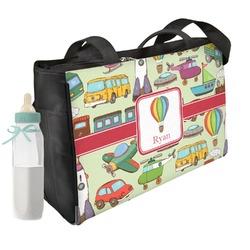 Vintage Transportation Diaper Bag (Personalized)
